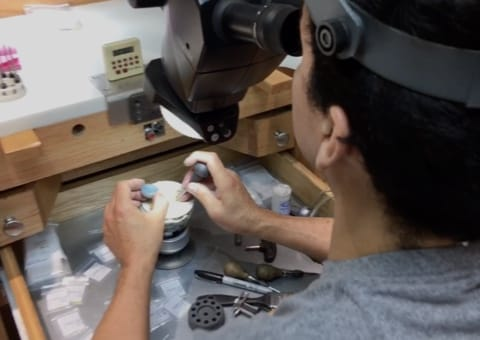 Secure Diamonds By Hand